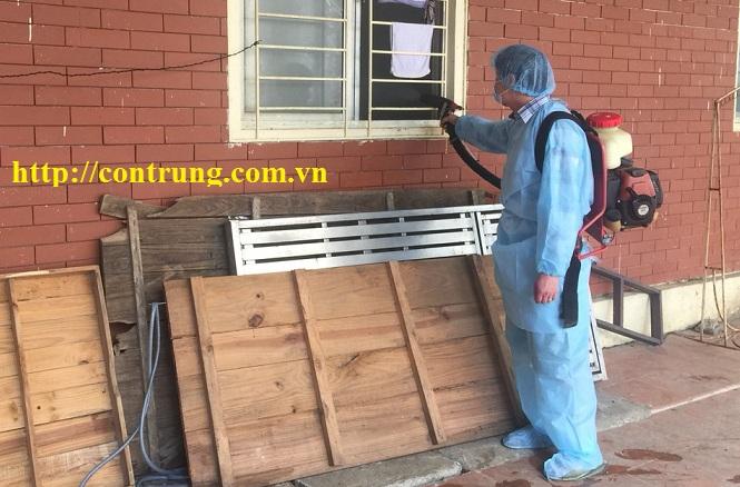 Dịch vụ phun diệt côn trùng tại quận Hà Đông, TP. Hà Nội