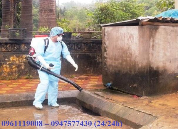 Công ty phun thuốc diệt côn trùng chuyên nghiệp tại Quốc Oai Hà Nội