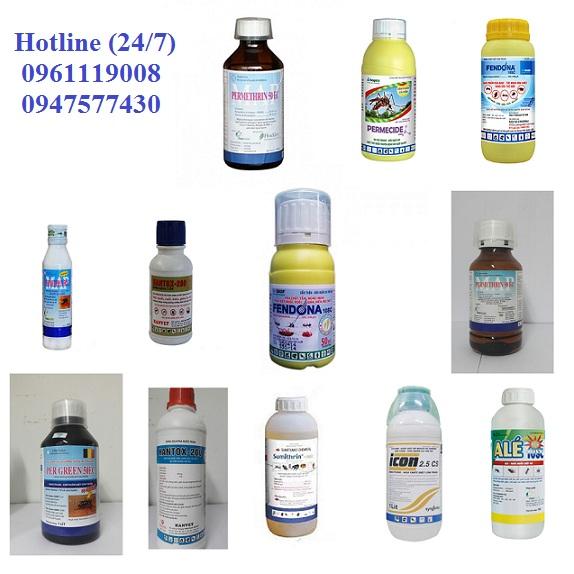 Các loại thuốc diệt côn trùng tại Quảng Trị