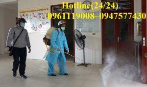 Công ty Quang Hải chuyên nhận các dịch vụ phun khử trùng, khử khuẩn tại Hồ Chí Minh. Chúng tôi luôn sử dụng những thiết bị tiên tiến nhất để phục vụ cho quý khách hàng