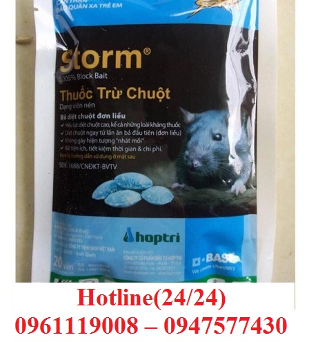 Thuốc xử lý chuột, thuốc đuổi chuột được nhập khẩu an toàn từ nước ngoài đã có mặt tại Cần Giờ.